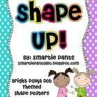 Free bright polka dot shape posters that match our polka dot math manipulative labels and polka dot behavior clip chart. There are 12 shape posters...