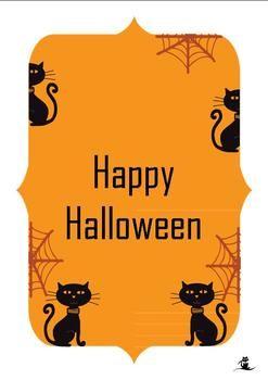 48 best halloween card verses images on pinterest halloween prop 5 halloween cards the 5 cards have different covers however the original verse m4hsunfo