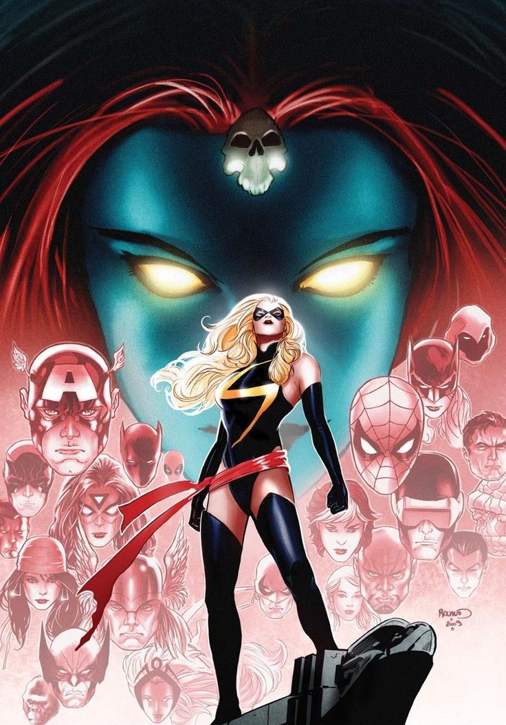 Wonderful Ms. Marvel cover artComics Art, Msmarvel, Comics Book, Ms Marvel, Marvel Comics, Paulrenaud, Super Heroes, Captain Marvel, Superhero