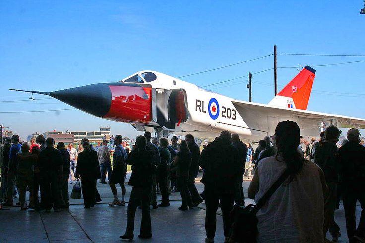 Avro Arrow replica at CASM Arrow rollout, 8 October 2006