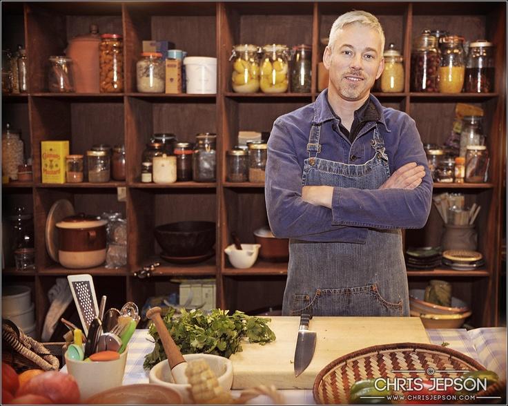 Philip Dundas, chef and cookery writer,   photo © ChrisJepson.com - Portrait Photographer