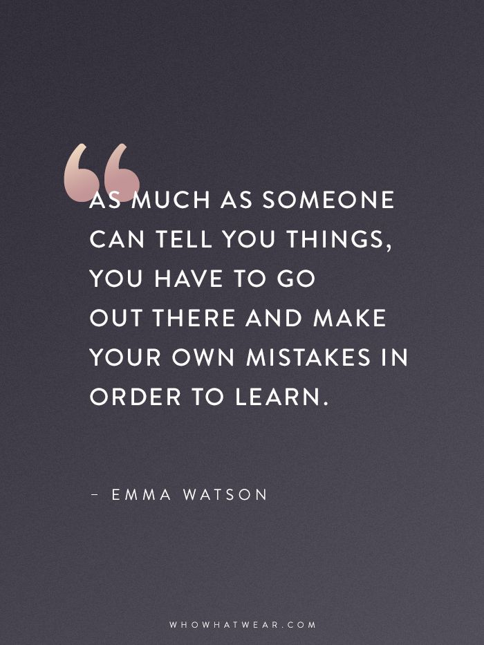 Emma Watson Quotes That Every Woman Should Read via @WhoWhatWear  I've always believed this 100%