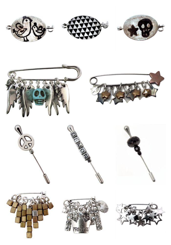 Broches, les dernières créations...★! http://www.llulecreations.com/
