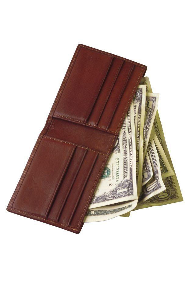 Como fazer uma carteira masculina com três partes