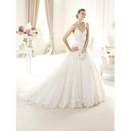 Pronovias 2013 Collection, Uri, Size 10 Wedding Dress For Sale | Still White United States