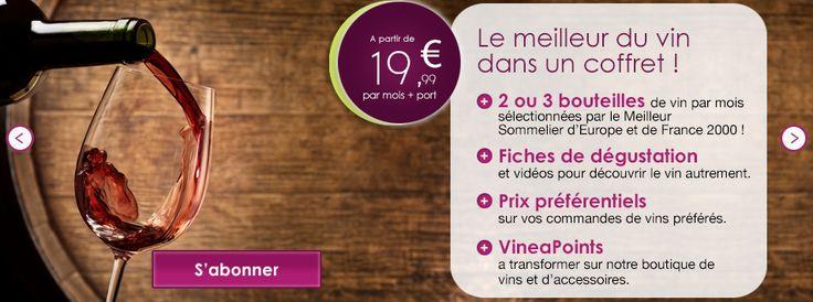 Concours VineaBox : gagnez 5 box de 2 bouteilles de vins
