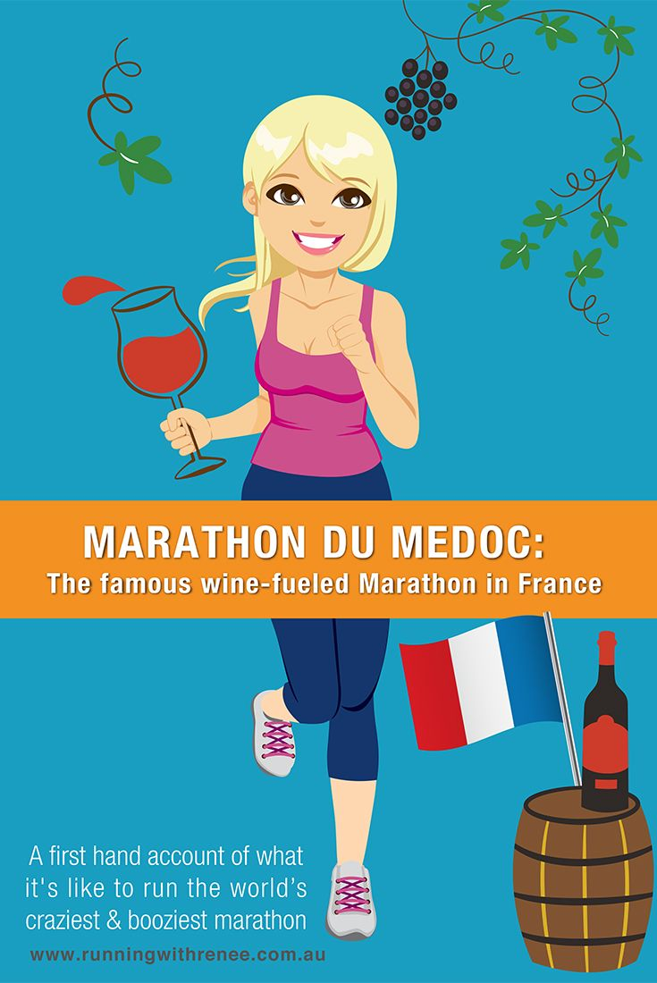 Race review of Marathon Du Medoc: a first hand account of what it's like to run the worlds craziest & booziest marathon - The Medoc Marathon