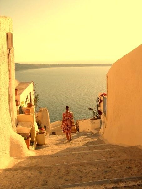 Santorini Greece.