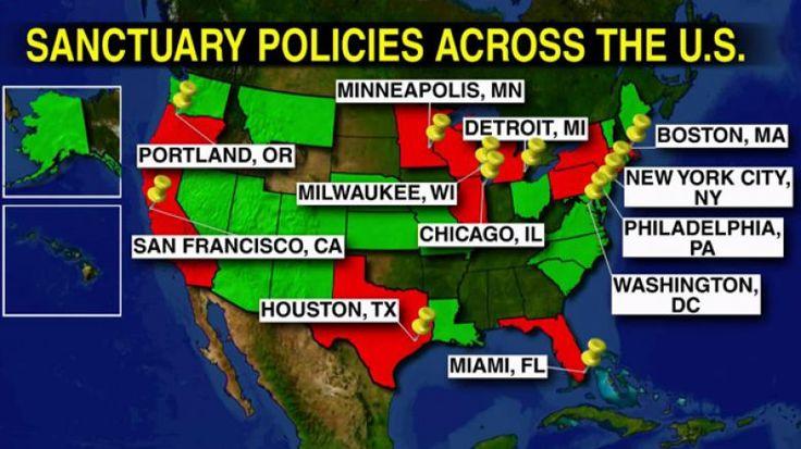 MAP, INFO: More Than 200 'Sanctuary Cities' Across U.S. | Fox News Insider