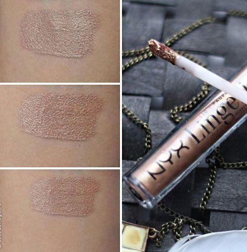 Перламутровые тени для век NYX Lid Lingerie Eye Tint - Nude to me, Bronze Mirage отзывы — Отзывы о косметике — Косметиста