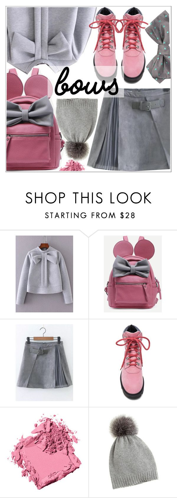 """Put a Bow on It!"" by teoecar ❤ liked on Polyvore featuring WithChic, Acne Studios, Bobbi Brown Cosmetics and Calypso St. Barth"