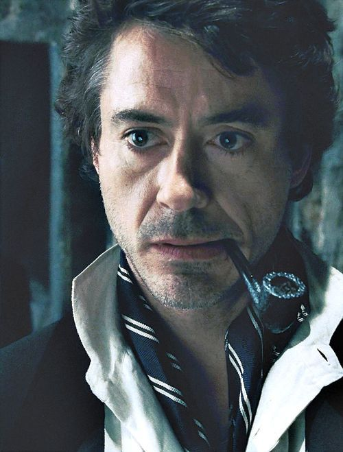 Sherlock -  Robert Downey Jr I don't care what anyone says Robert Downey jr will ALWAYS be my favorite Sherlock!!!