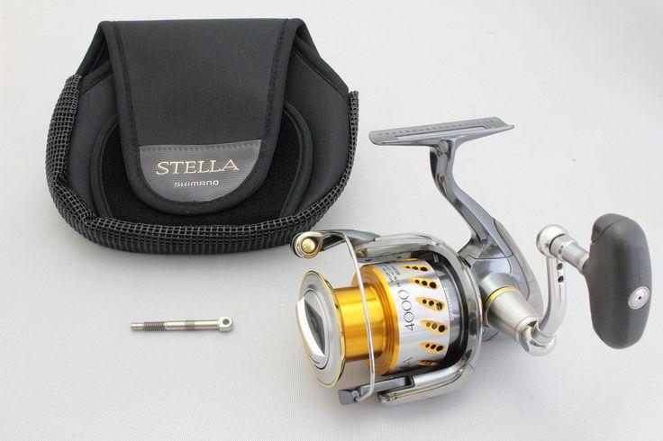 Shimano stella 4000 fe freshwater spinning reel stl4000fe for Stella fishing reel