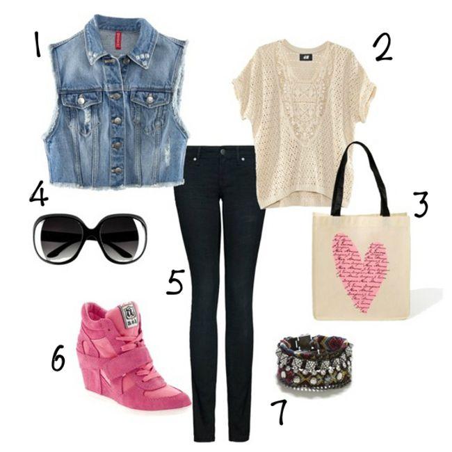 """¡Éste es un auténtico Look """"Shop Style""""! Repinéalo y encuentra más Looks de moda en www.iMujer.com/tag/look  #imfashion"""