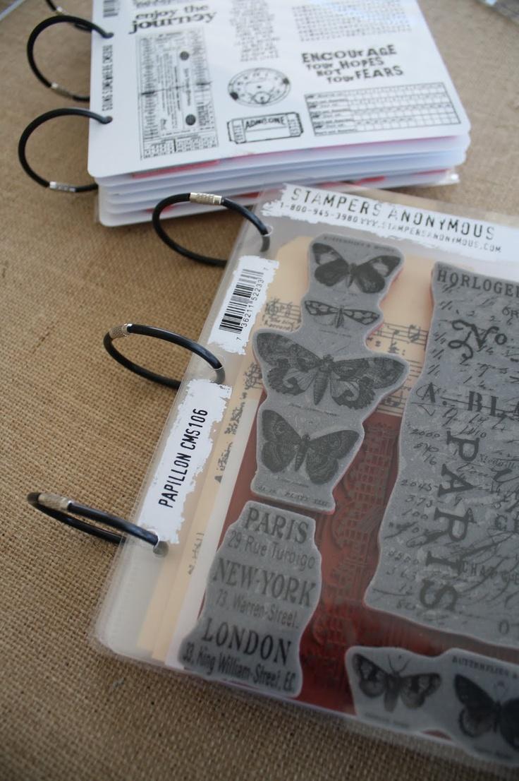 25 Best Ideas About Stamp Storage On Pinterest Rubber