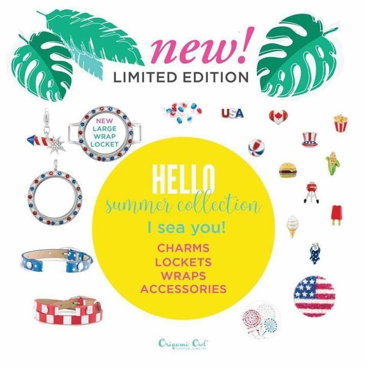 Origami Owl Summer 2017 Summer Charms New Large Living Lockets and more! Click to see the full Origami Owl Summer Collection for 2017! Email kristy@foreversparkly.com for a free gift!