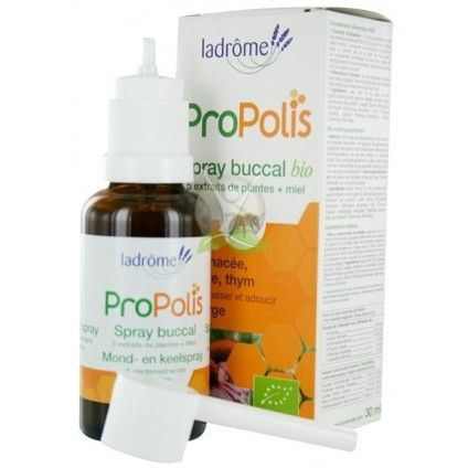 "Propolis spray bucal bio ""Ladrôme"""