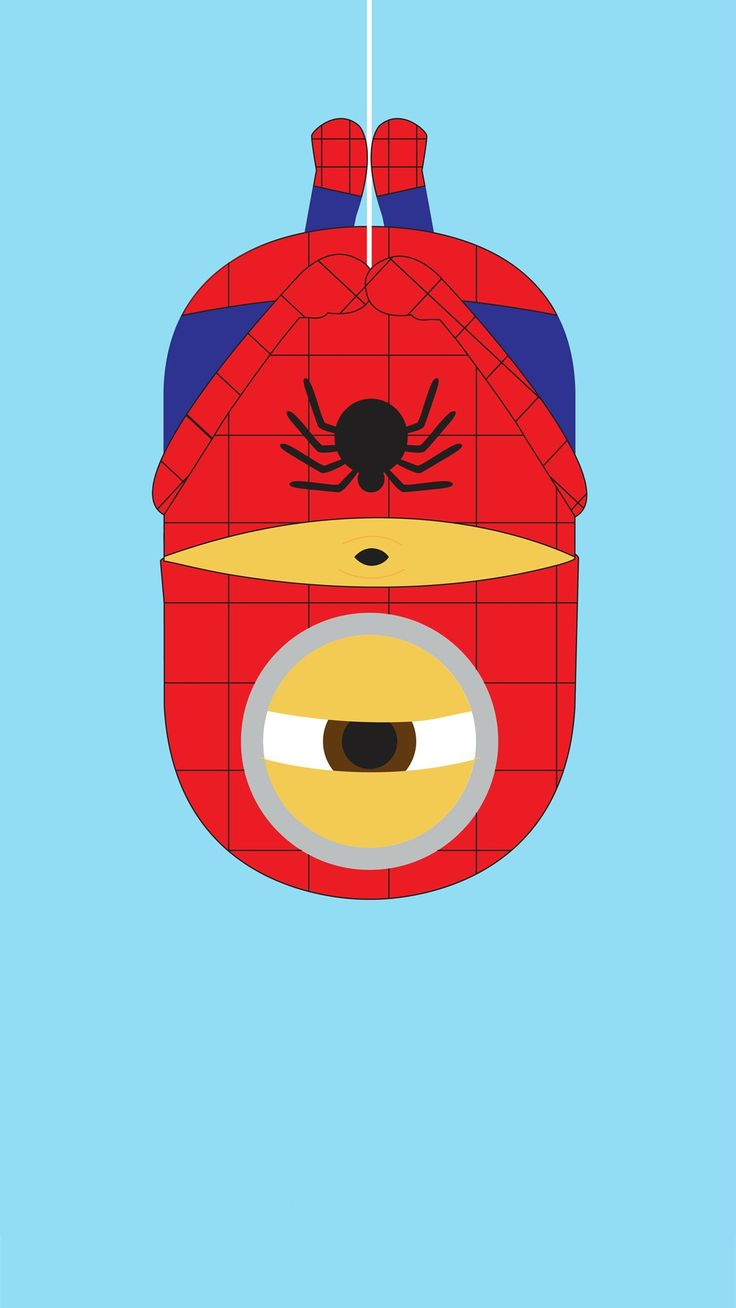2014 spider man minion iphone 6 plus wallpaper from - Iphone 6 spiderman wallpaper ...