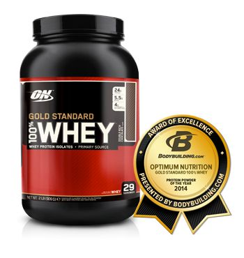 OPTIMUM NUTRITION - GOLD STANDARD 100% WHEY Gold Standard 100% Whey is the world's best-selling whey protein. It delivers 24 g of whey protein to support muscle growth.   What Does It Do?  Gold Standard 100% Whey contains Whey Protein Isolates, or WPI. Rated 90+% pure protein, WPI is known as the highest quality whey ingredient. After training, your body uses protein to help repair and rebuild muscle fibres.