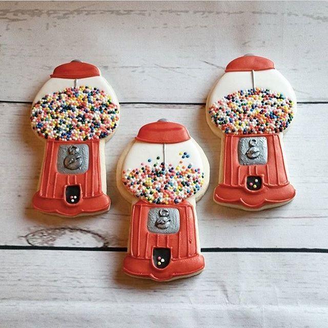 gumball machine cookie cutter
