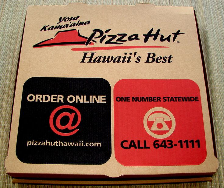 a customer in Hawai ordered pizza in 2010