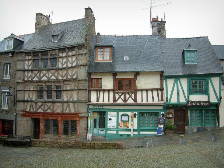 Maisons à colombages à Saint-Brieuc - Bretagne