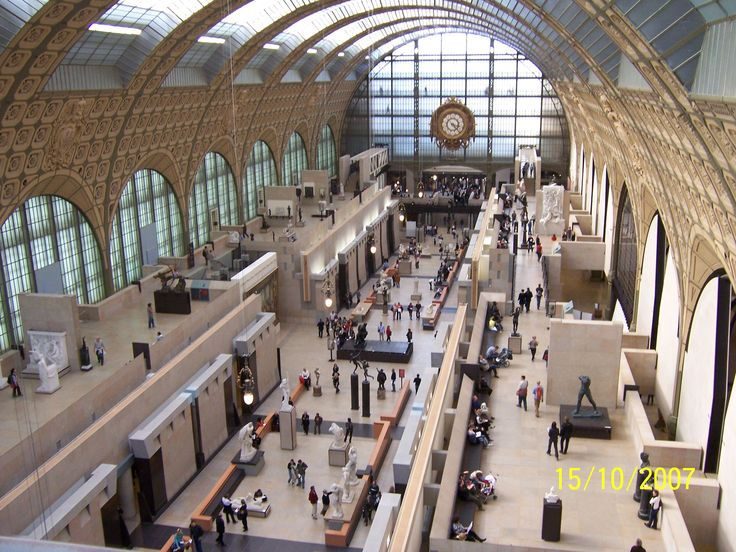 Musee d'Orsay, Paris. Probably my favourite art museum in the world, although the Musee du Louvre runs a very close second.