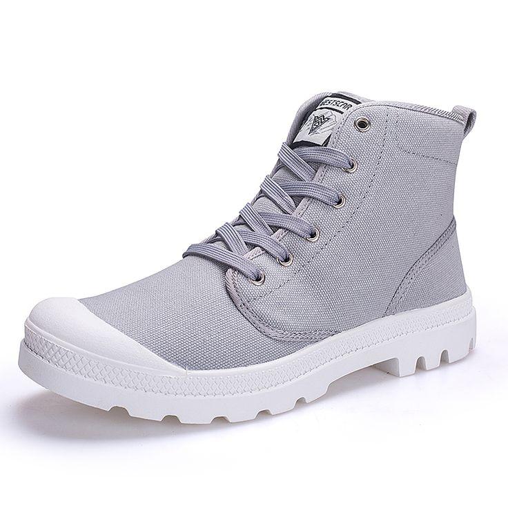 Mens Winter Safety Work Boots Canvas Cotton Footwear Men Large Size Shoes Tactical Boots Botas Militares Botas De Combate 2017