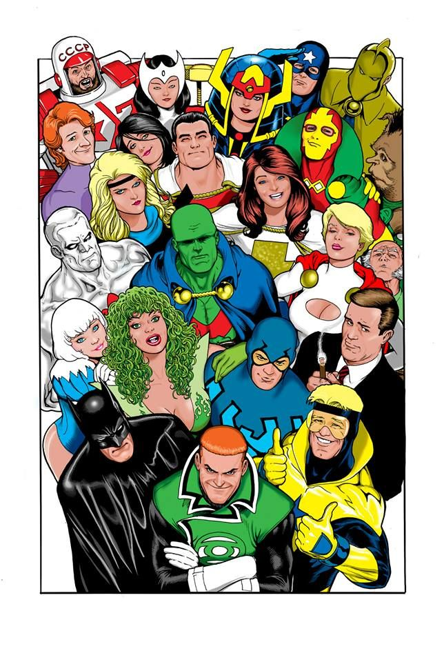 Justice League by Kevin Maguire *