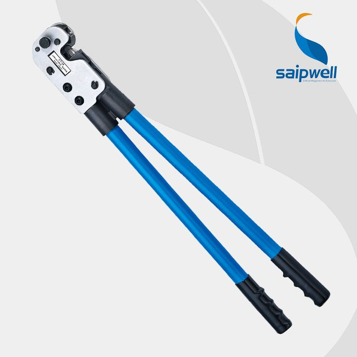 Saipwell кт-80 медная труба терминал обжимное бс-s терминалы типа 8-95мм2 опрессовка компилятор обжимной инструмент большой размер