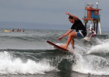 Surfing at #pangandaran