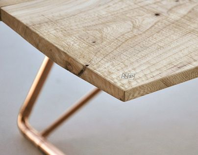 """Check out new work on my @Behance portfolio: """"coffee table, ash wood & copper"""" http://be.net/gallery/35883901/coffee-table-ash-wood-copper"""