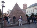 Market Place, Pyramid, Karlsruhe Germany