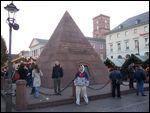 Market Place, Pyramid, Karlsruhe Germany