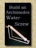 Archimedes Water Screw Plans