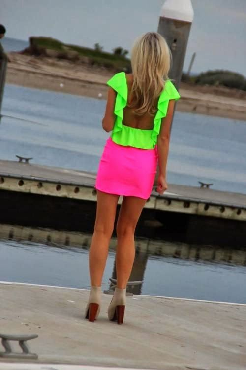 Neon Fashion Trends 2014
