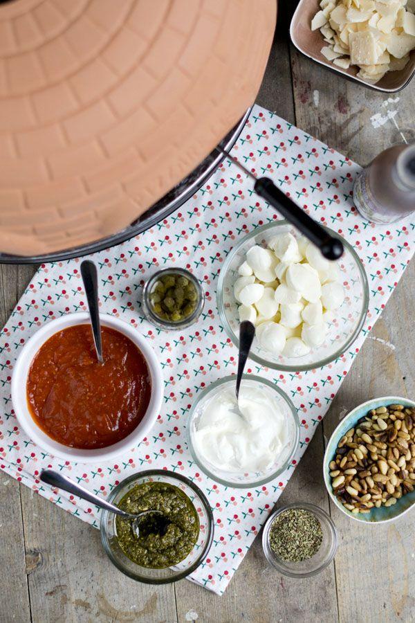 Pizzarette toppings
