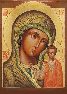 Kazanskya icon of BVM