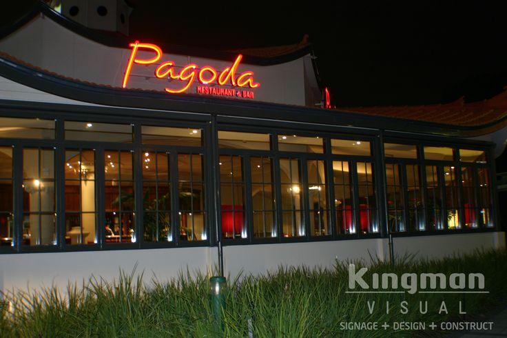 Neon signage for Pagoda Resort & Spa http://www.pagoda.com.au/pagoda-restaurant-bar/