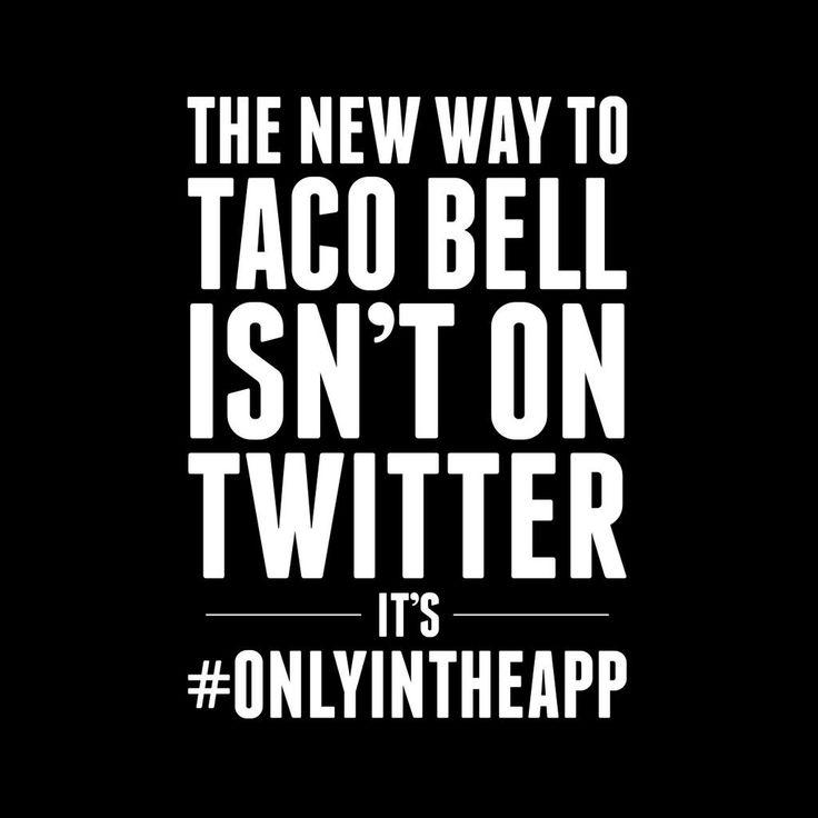 Taco Bell si oscura online ma solo per lanciare una nuova app!