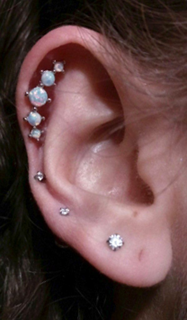 Best 25 Triple Ear Piercing Ideas On Pinterest Ear