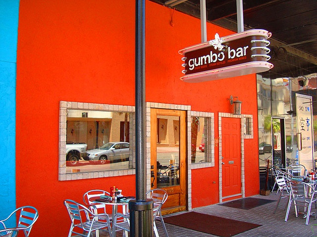 Blending pungent, peppery Cajun flavors with fresh Gulf cuisine, Gumbo Bar has brought a bit of welcomed spice into the Galveston restaurant scene. http://www.galveston.com/gumbobar/