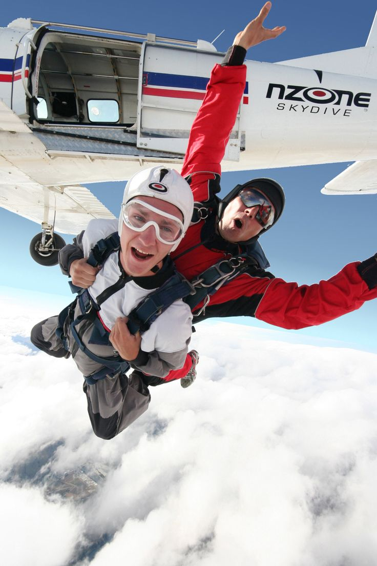 Jump out of a perfectly good aeroplane!