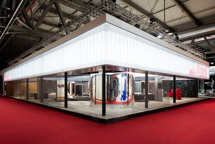 OMA assembles 'this is knoll' pavilion at salone del mobile
