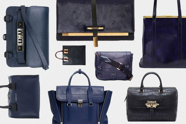 See 34 Chic Navy Bags - The Cut