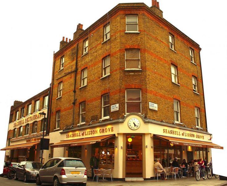 Seashell Restaurant in Lisson Grove, Marylebone.