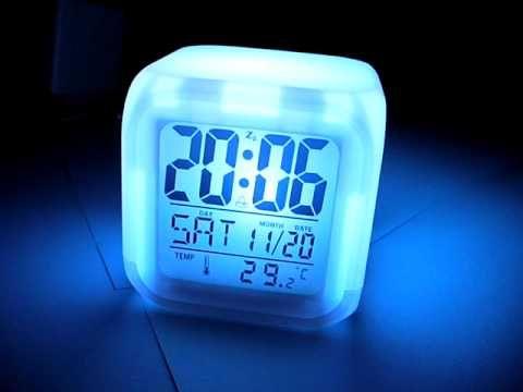 Glowing LED Digital Clock