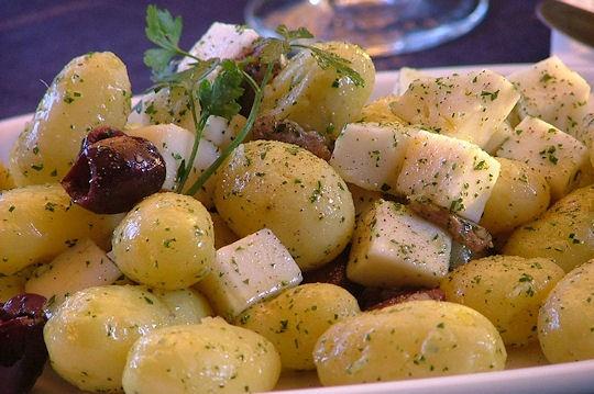 Insalata di patate e marzolino
