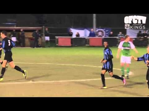 Video – Even 'Le God' can't save GFC on debut  Thursday 25th April 2013.      Club president Matt Le Tissier in action for the Green Lions for the first time last night as a late substitute - but GFC still lost to Colliers Wood. Colliers Wood United 4, Guernsey FC 2