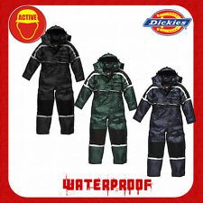 Dickies Padded Waterproof Overalls/Coveralls - WP15000